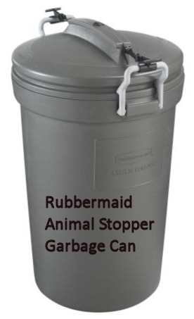 Animal Stopper Garbage Can