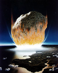 Holleford Meteor Crashing into Earth